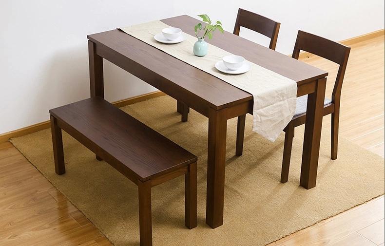 china oak wood dining set one table
