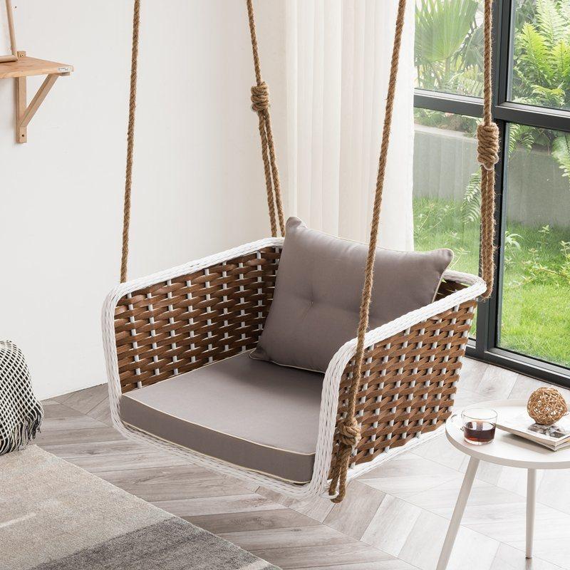 china swing seat cushion hanging chair