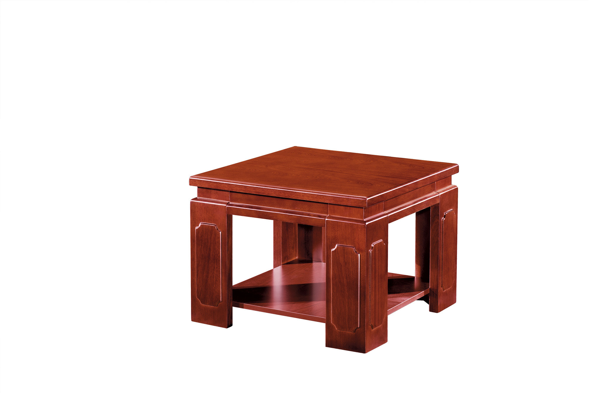 hot item luxury high end wooden veneer square small coffee table office furniture d 30506