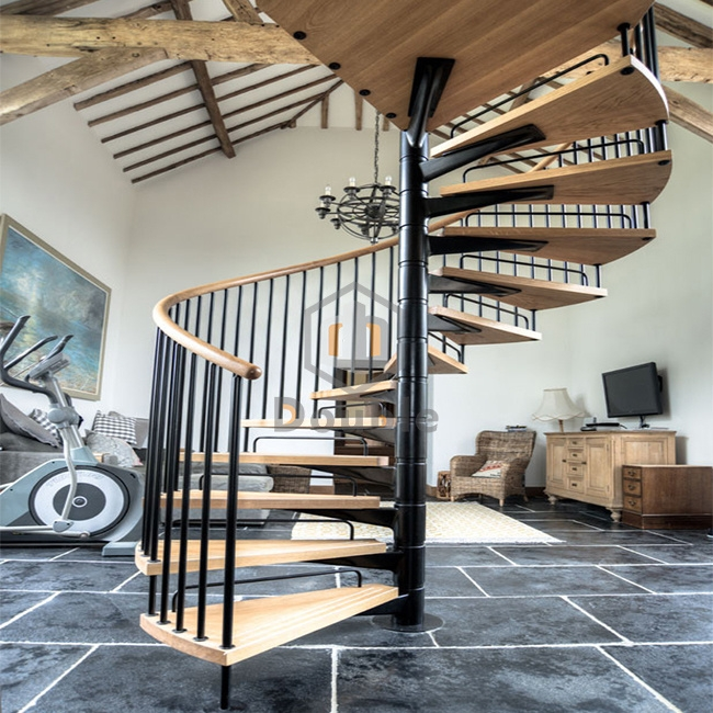 China Small Space Stair Design Spiral Staircase Iron China | Spiral Stairs For Small Spaces | Second Floor | Low Budget | Square | Low Cost Simple | Metal
