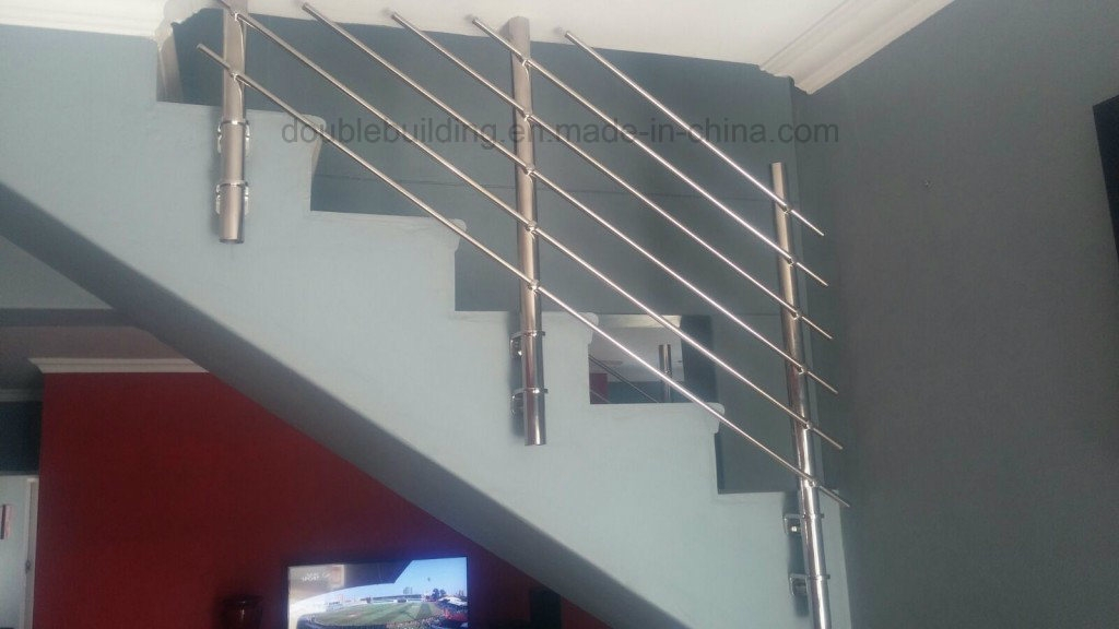 China Concrete Stairs Stainless Steel Railing Design Side Mount   Stainless Steel Banister Rail   Ags Stainless   Satin Stainless   Metal Fabrication   Railing Designs   Cable Railing Kits
