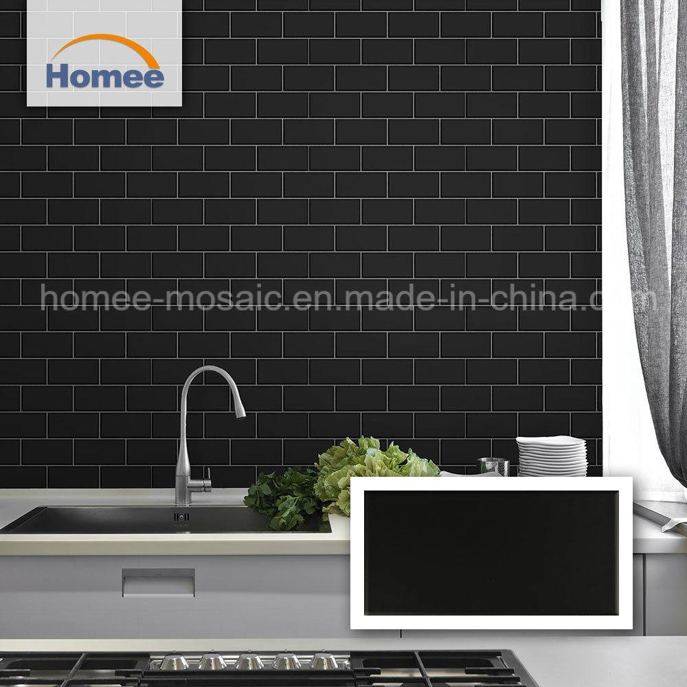 china matte black ceramic mosaic