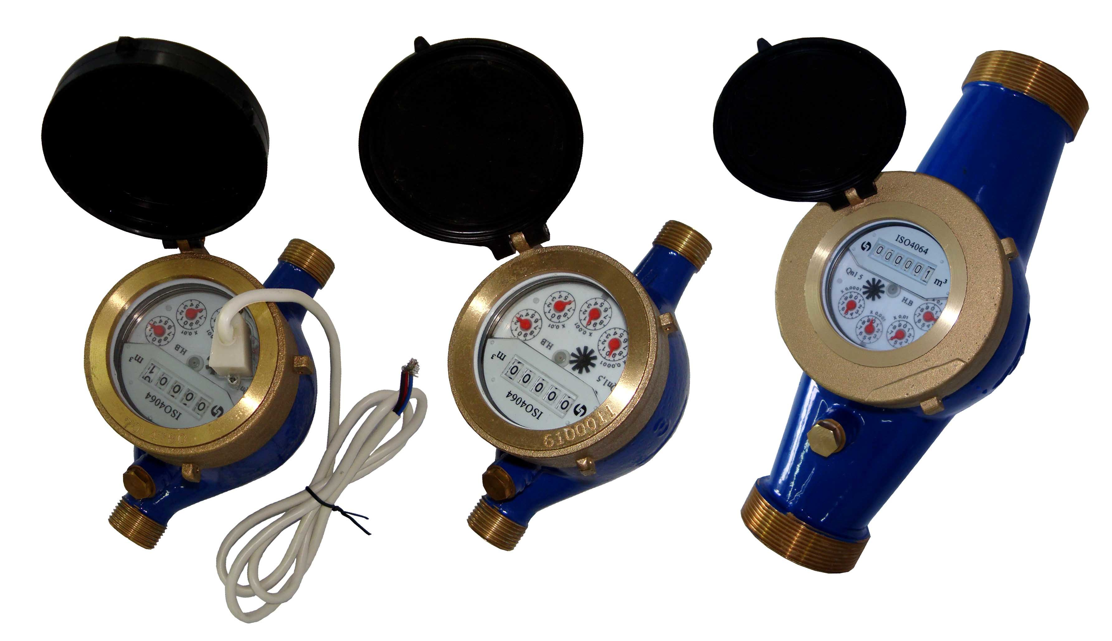 China Domestic Reading Control Prepaid Water Flow Meter