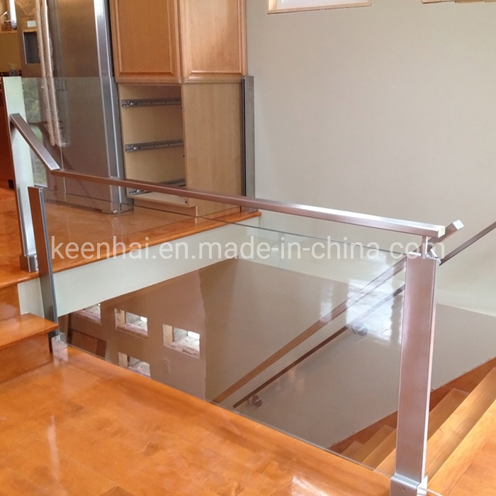 China Modern Stainless Steel Indoor Stair Railing Handrail China | Metal Handrails For Indoor Stairs | Baluster | Indoor Outdoor | Staircase Remodel | Stainless Steel | Stair Treads