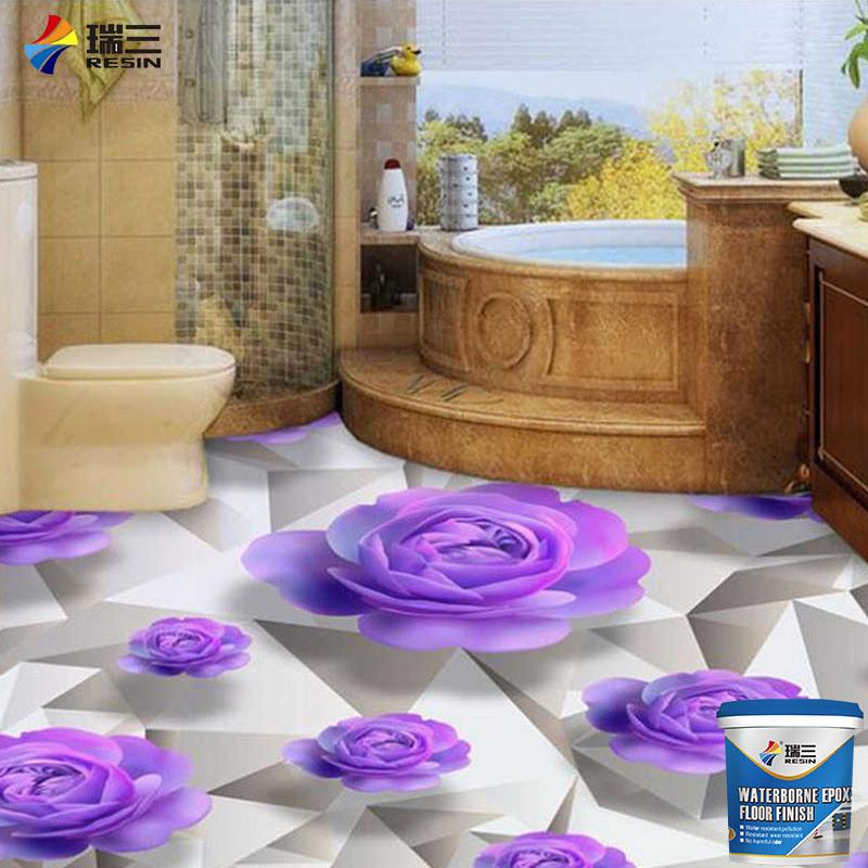 china hot sale 3d epoxy floor tile