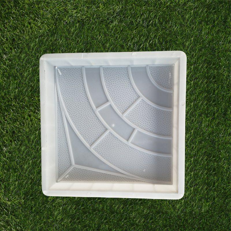 hot item plastic interlocking slabs patio paver concrete molds