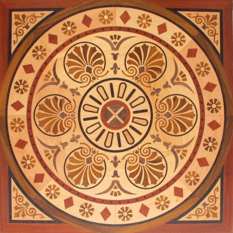 wood marquetry
