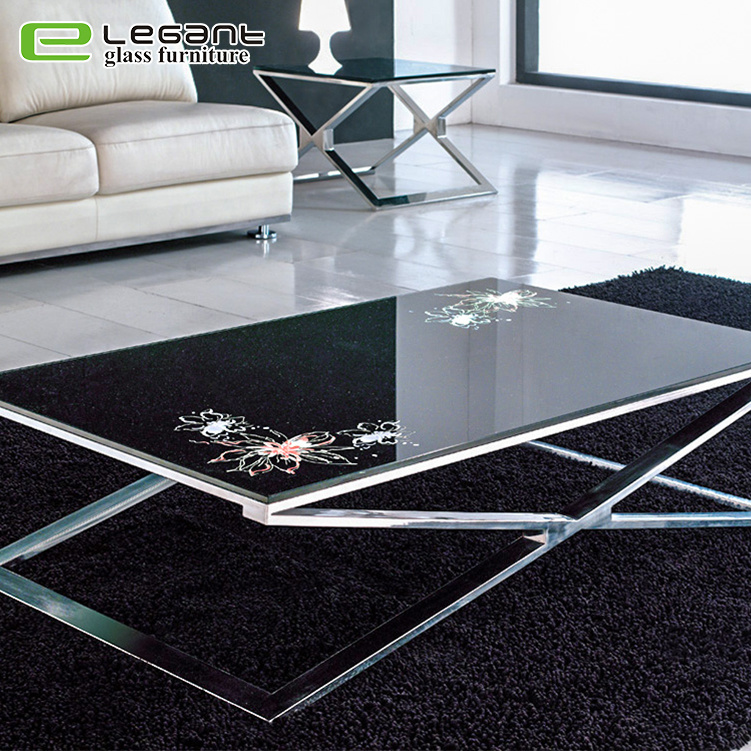 top glass coffee table