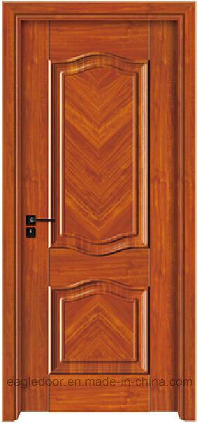 China 3D Simple Designs Modern White Wood Door Design ...