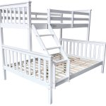 China White Solid Wood Triple Bunk Bed Double Single Size Upper And Lower Bed China Triple Bunk Bed Wooden Double Bunk Bed