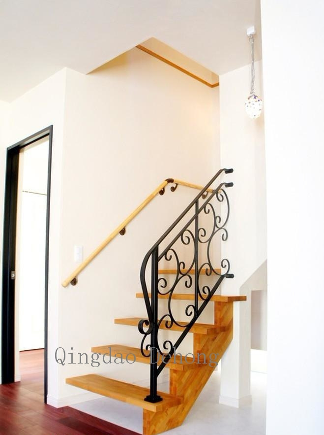 China Decorative Wrought Iron Stair Railings Iron Balustrade Iron | Decorative Wrought Iron Handrail | Forged Iron | Interior | Classic | Ornamental | Steel