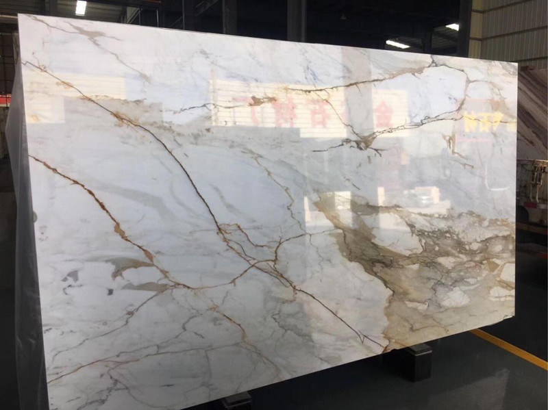 china white gold engineering marble for