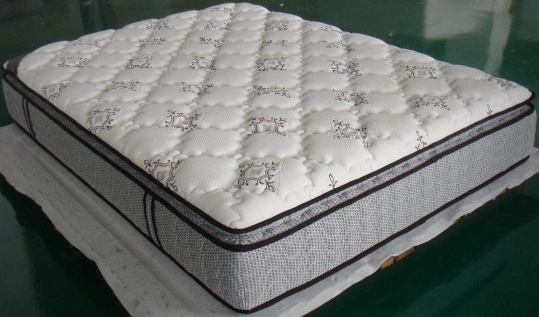 china bamboo pillow top mattress lf