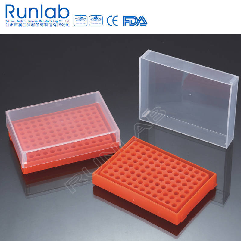 hot item 96 well pcr tube racks with cover