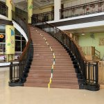 China Customized Luxury Indoor Wrought Iron Stair Railing Design Interior Stair Railings China Stair Railing Stair Handrail