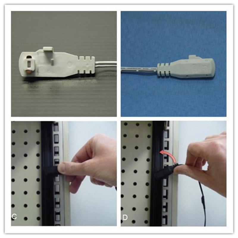 china led shelf light connecting line power adapter supplier shanghai candor opto electronics tech co ltd