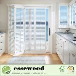 Hot Item White Australia Design Wood Exterior Plantation Shutters