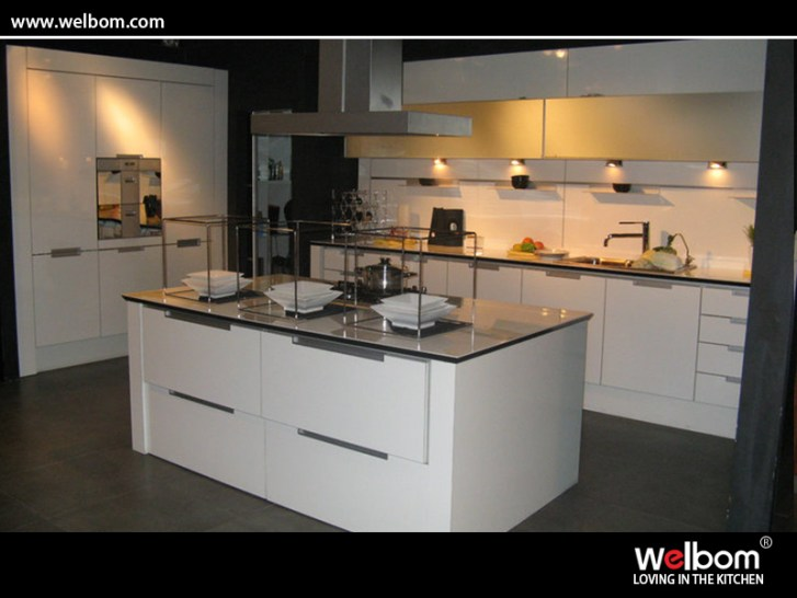 China White Lacquer Kitchen Cabinet Photos Made
