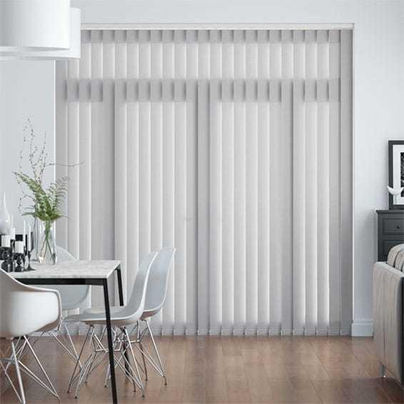 hot item manual patio door blinds sheer vertical blinds with accessories