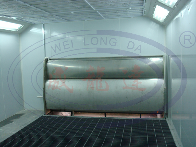 hot item industrial water curtain spray paint booth oven for sale