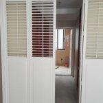 Bi Folding Door Window Shutter Folidng Panel Indoor Shutter White Color