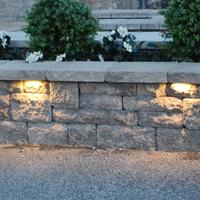 hot item stainless steel low voltage garden light 12v led stone light retaining wall light led hardscape lighting dl hp02