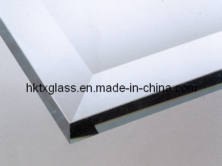 china beveled edge glass table top