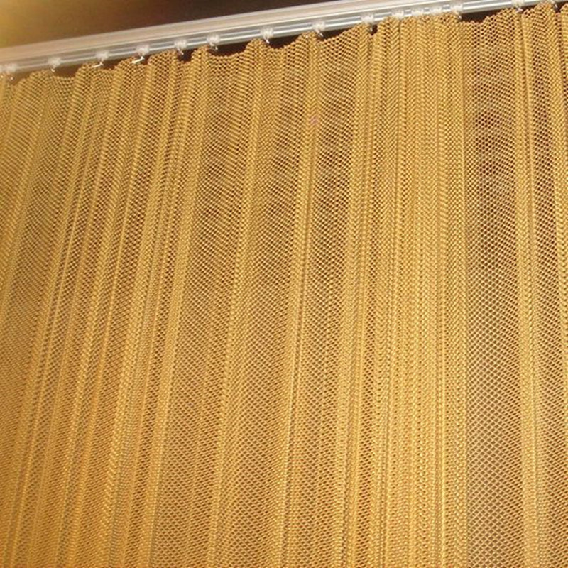 hot item decorative metal woven wire mesh curtain