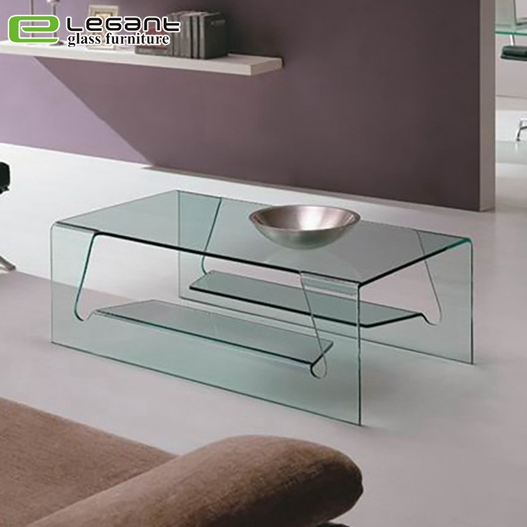 china modern glass center table in