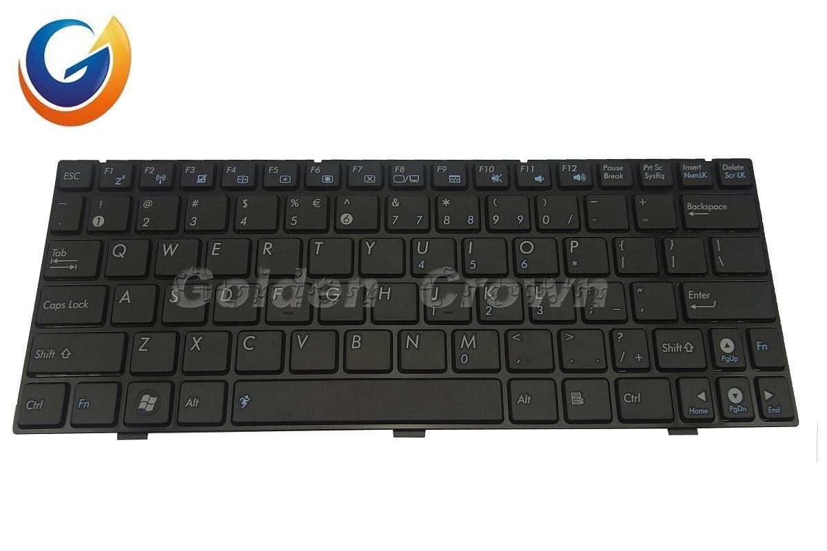 China Laptop Keyboard Teclado For Asus Epc Black