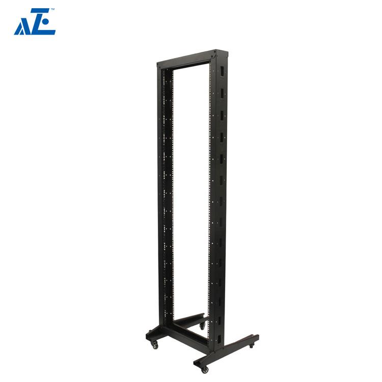 hot item 42u 47u 4 post open frame wall mount equipment rack enclosure 19inch server rack frame