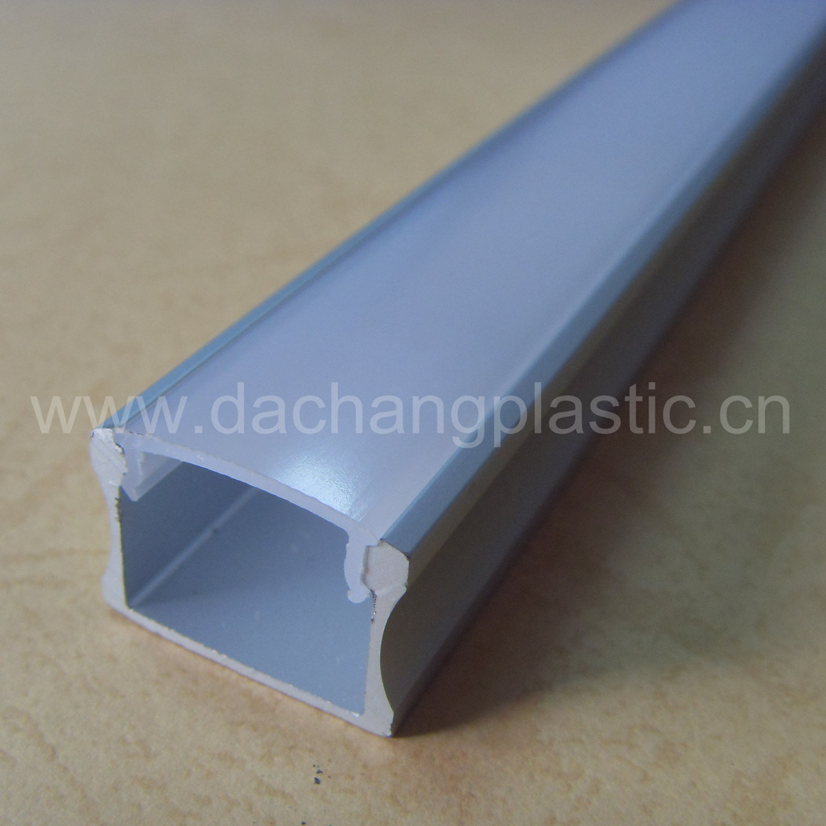 China Frosted Polycarbonate Profile For Led Light Diffuser