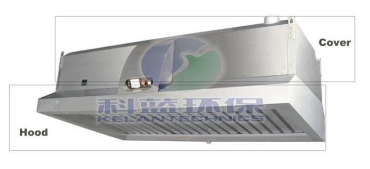 China All One Kitchen Range Hood Exhaust Vent Esp Electrostatic