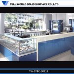 China New Design Corian Small Restaurant Bar Counter Photos Pictures Made In China Com