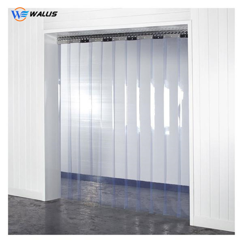 hot item thick transparent clear industrial plastic pvc soft film for door strip curtain outdoor blinds