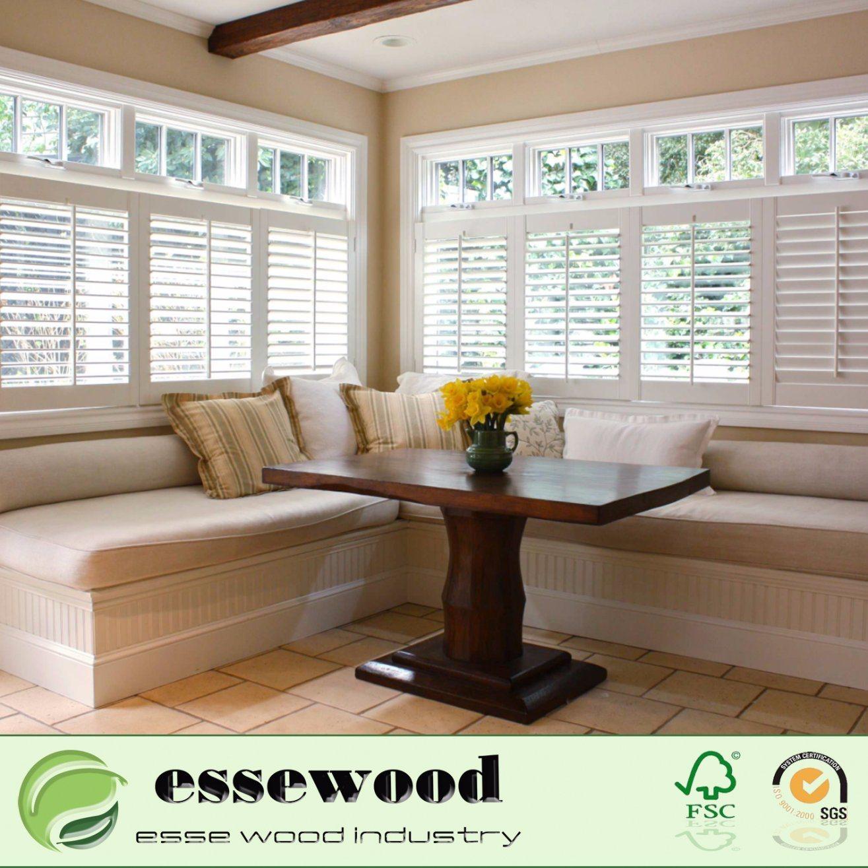 Hot Item Ventilation Faxwood Plantation Shutters Window For Home Bathroom