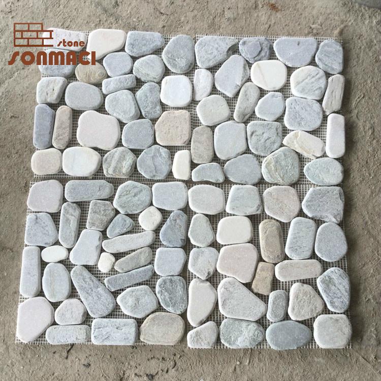 china natural tumbled stone mosaic