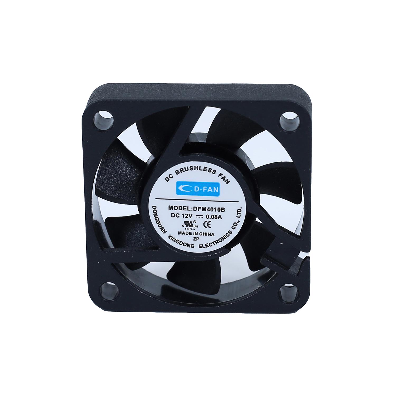 china dc 12v 4010 2pin mini cooling