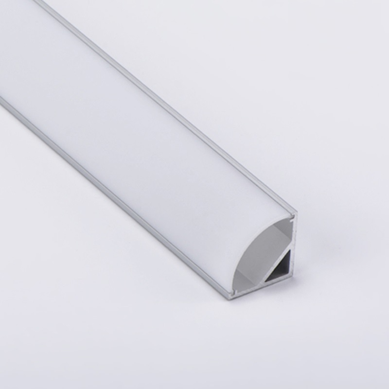 hot item made in china 120 degrees 2m led linear light strip channel aluminum extruded for corner surface mounted