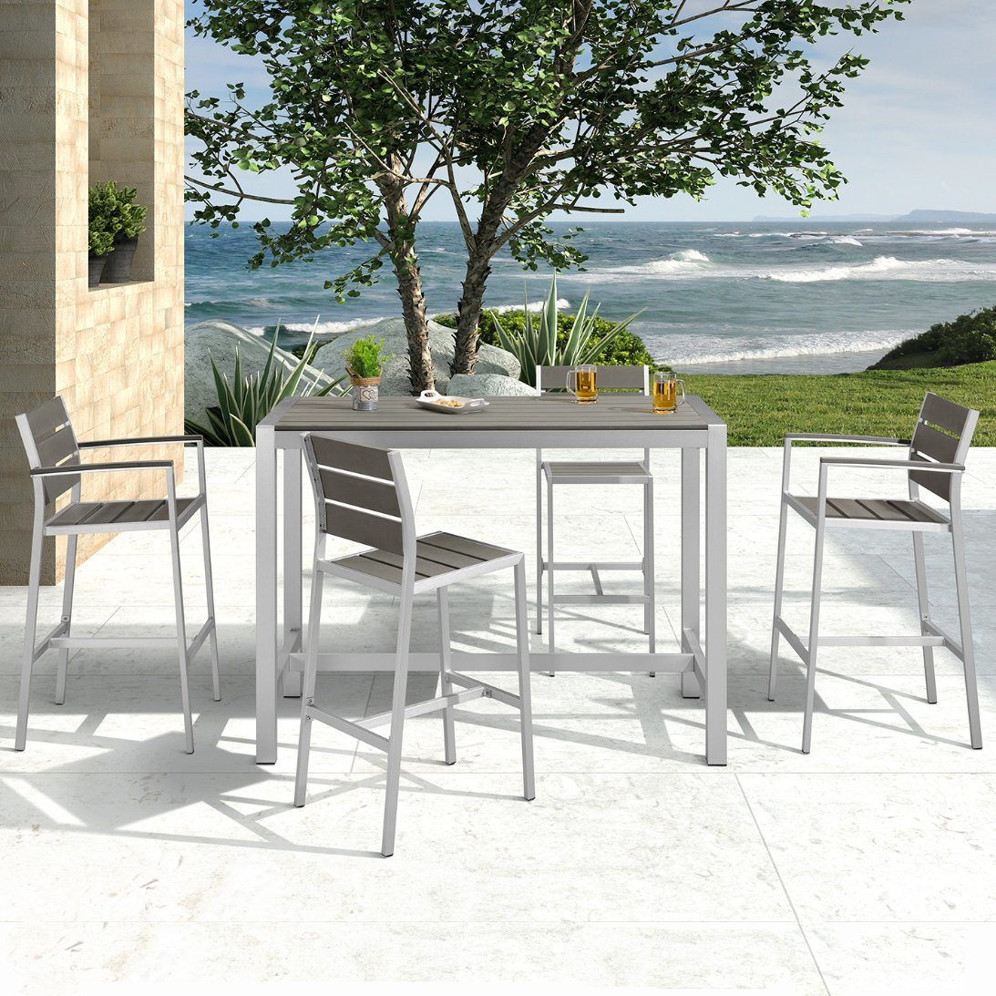china bar height patio furniture 5