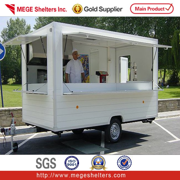 China Mobile Converted Popular Container Kitchen Trailer Tb03 Photos