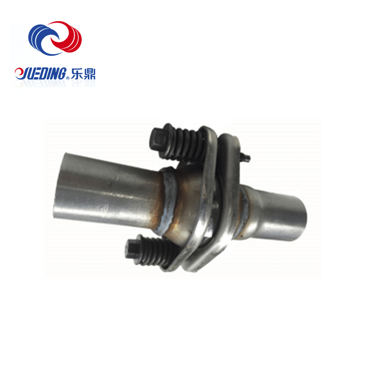china exhaust flexible pipe metal hose expansion joint supplier zhe jiang yue ding corrugated tube co ltd