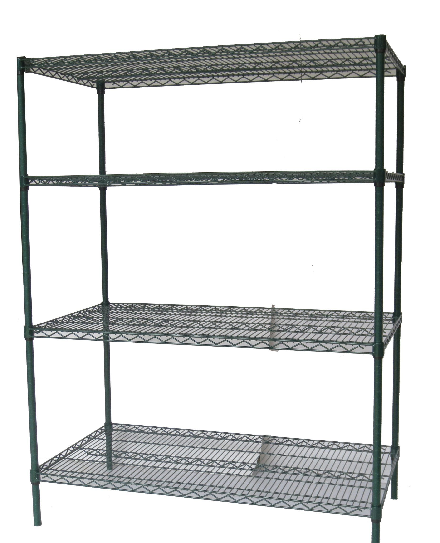 Hot Item Nsf 4 Tiers Metro Powder Coating Metal Wire Shelving For Hospital Drugstore