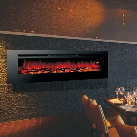 China 40 Long Linear Wall Mounted Fireplace Built In Fireplace Real Flame Comfort Smart Space Heater Indoor Room Decoration China Linear Insert Fireplace And Space Heater Price