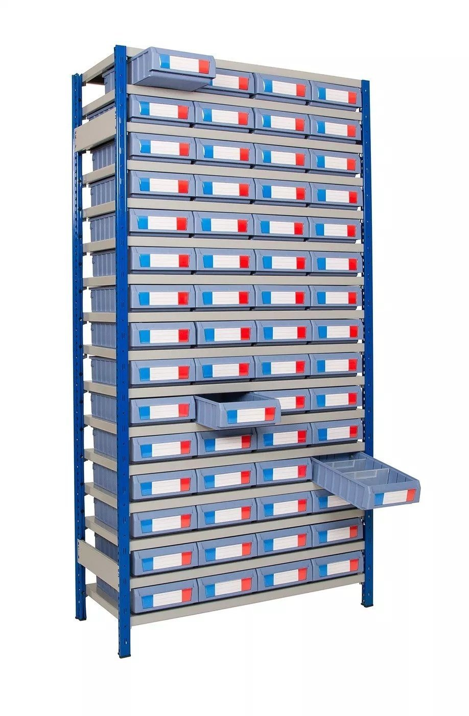 china small parts storage rack bin for