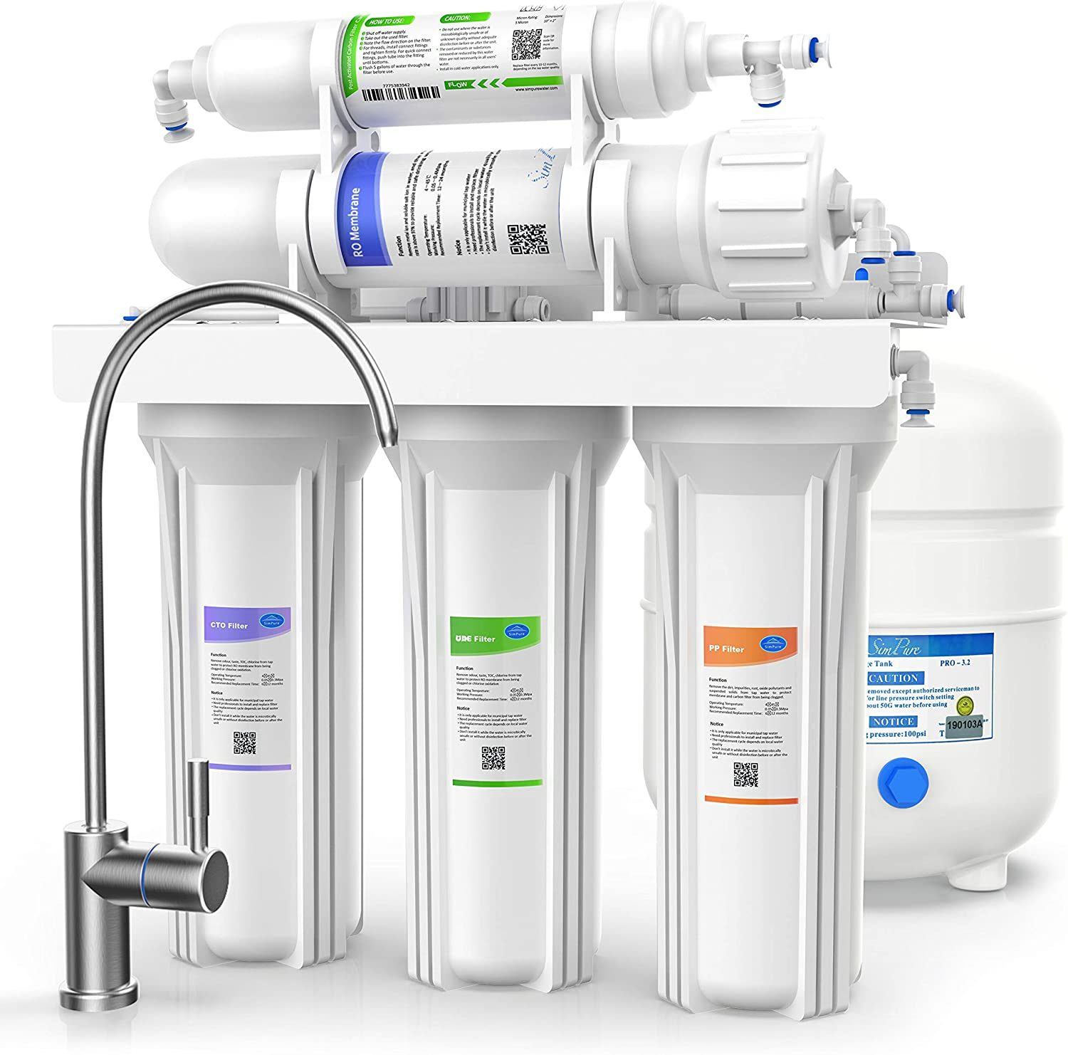 stage ro water purifier