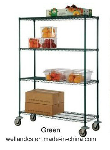 china adjustable 4 tiers commercial kitchen fruit and vegetable