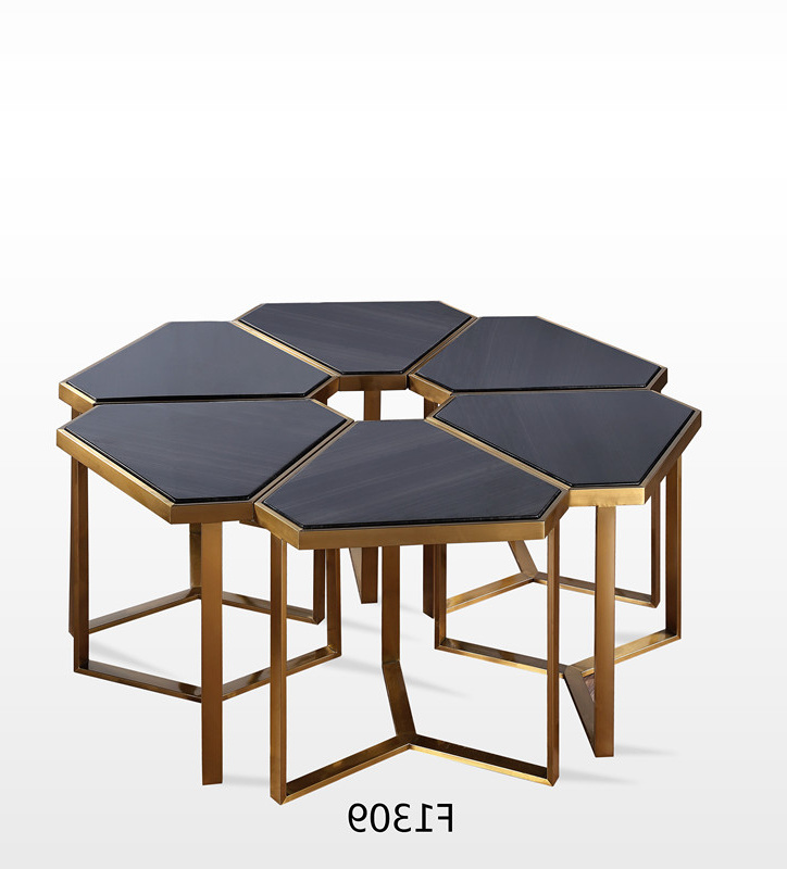 black marble coffee table side tables