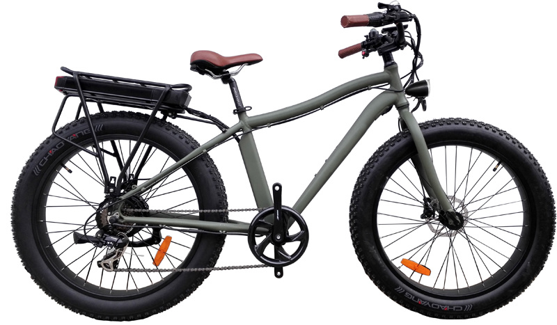 china rear rack fat tire electric bike