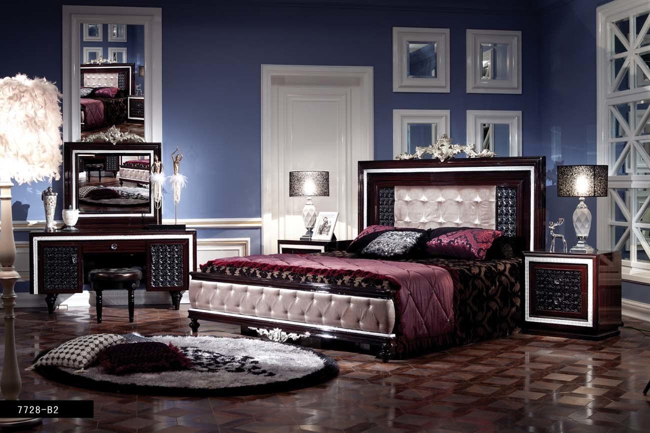 Classique Chambre Coucher Mobilier De Maison 7728 B2